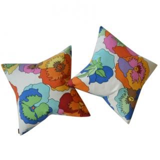 Missoni Home floral print cushion covers
