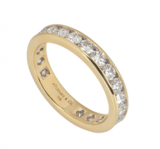 Tiffany & Co. Yellow Gold Diamond Wedding Ring - Current Collection