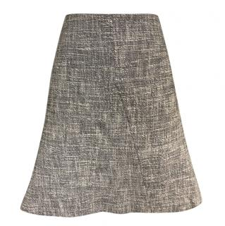 Gerard Darel Flecked Cotton Skirt