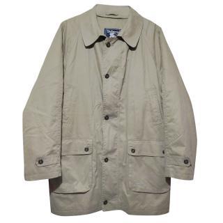 Burberrys Prorsum Vintage Nova Check Trench Coat