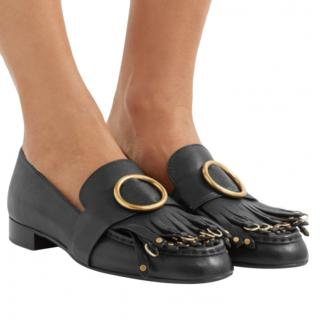 Chloe black leather