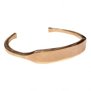 Giles & Brother Men's Rose Gold Identity Cuff