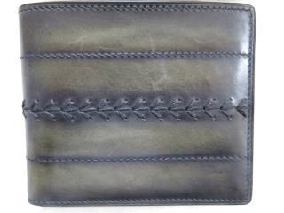 Berluti Patina Hand-stitched Wallet