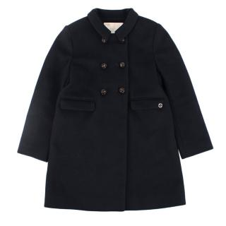 Gucci Kids double breasted wool coat