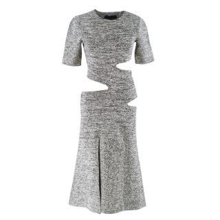 Proenza Schouler Cut-Out Stretch Knit Dress