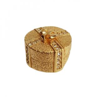 Christian Dior Vintage Gift Box Pin Brooch