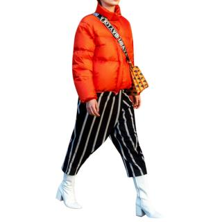 Bimba Y Lola Orange puffer jacket