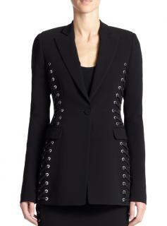 Altuzarra Merrie black laced jacket