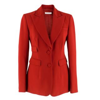Altuzarra Red Tailored Jacket