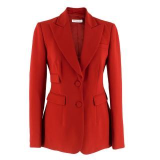Altuzarra Red Tailored Jacket