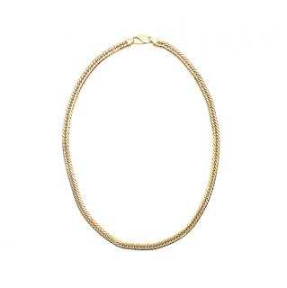 Bespoke 18kt Yellow Gold Curb Chain