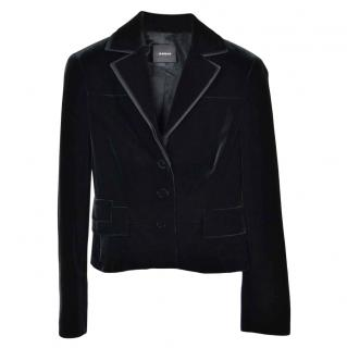 Akris Black Velvet Jacket