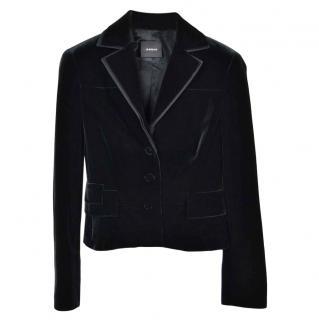 Akris Black Velvet Jacket