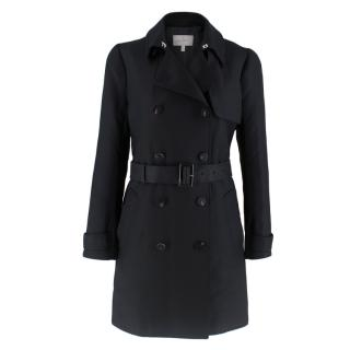Mulberry Belted wool & silk trench coat