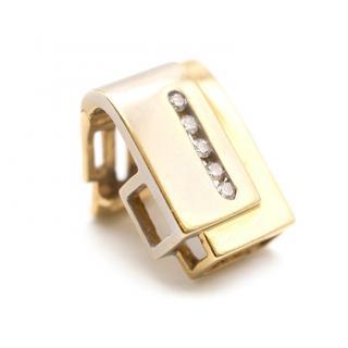 Bespoke Diamond, Yellow and White Gold Pendant