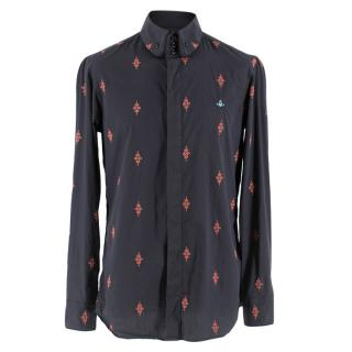 Vivienne Westwood Orb Embroidered Shirt