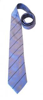 Burberry Blue Silk Tie