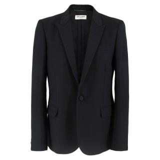 Saint Laurent Peak Lapel Tuxedo Jacket
