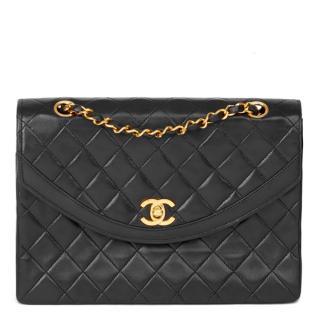 Chanel Vintage Leather Flap Bag