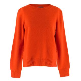 The Row Red Wool & Cashmere Sweater