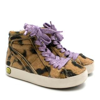 Golden Goose Deluxe Brand Leopard High-Tops