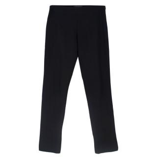 The Row Skinny Black Pants