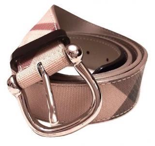 Burberry Nova Check Belt