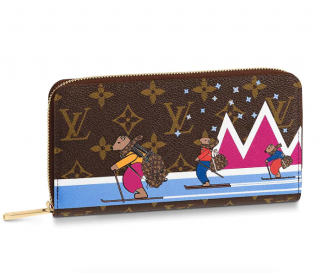 Louis Vuitton Monogram Christmas '18 Zippy Wallet