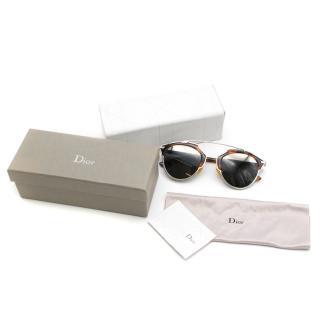 Dior CD Diorsoreal Tortoiseshell Sunglasses