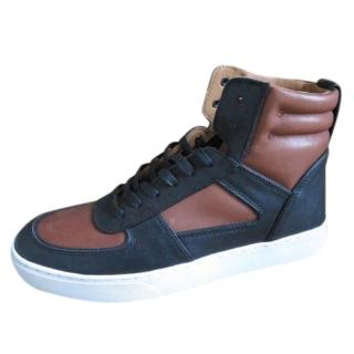 Coach Black & Brown High Top Sneakers