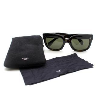 Celine Oversized Square Acetate Sunglasses