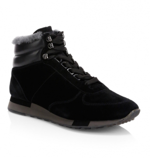 Bally Gregory High-top Calf Fur Sneakers