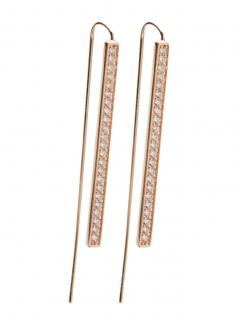 Sif Jakobs Rose Gold Simeri Grande Earrings