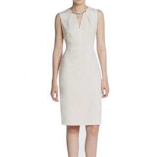 BCBG Maxazria light gray Samantha dress
