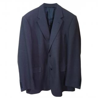 Loro Piana wool & cashmere blend grey blazer