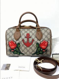 Gucci special edition GG Supreme Boston Bag