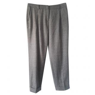 MaxMara weekend virgin wool tapered trousers