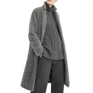 MaxMara grey soft cashmere blend jumper