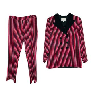 Rixo x Laura Jackson striped trouser suit