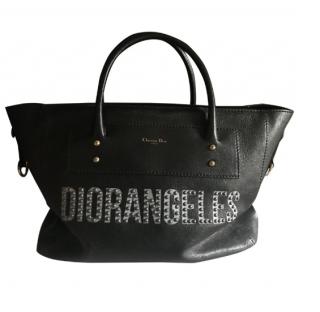Dior Studded Diorangeles Tote Bag