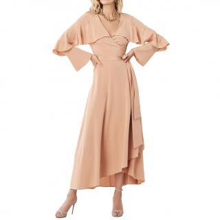 Diane Von Furstenberg Alice Ruffle Wrap Dress