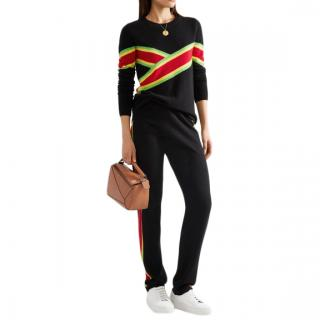 Madeleine Thompson cashmere Anastasia loungewear suit