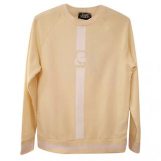 Karl Lagerfeld Lemon Yellow Sweatshirt