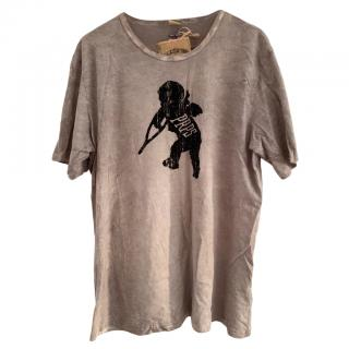 PRPS Washed Grey Cherub T-Shirt