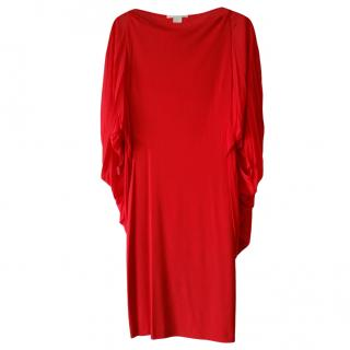 Antonio Berardi red cady dress