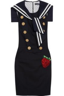 Dolce & Gabbana Marina line mini sailor dress
