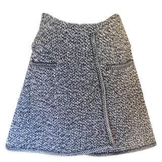 Chanel tweed trapeze skirt