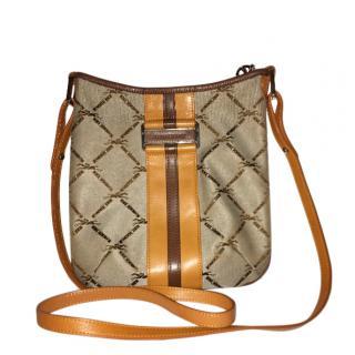 Longchamp LM Jacquard Crossbody Bag