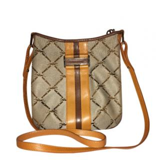 Longchamp LM Jacquard Crossbody Bag