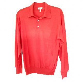 Brioni Cashmere & Silk Blend Polo Shirt